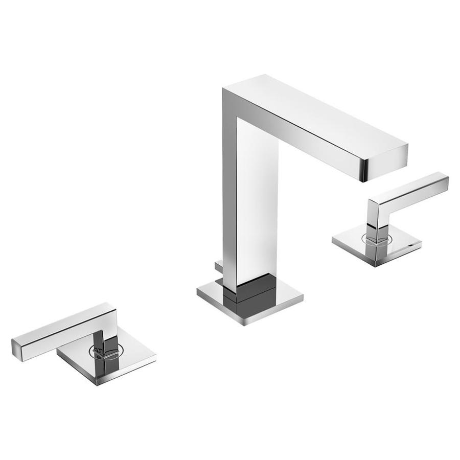 Symmons Duro Chrome 2-Handle Widespread Bathroom Faucet (Drain Included)