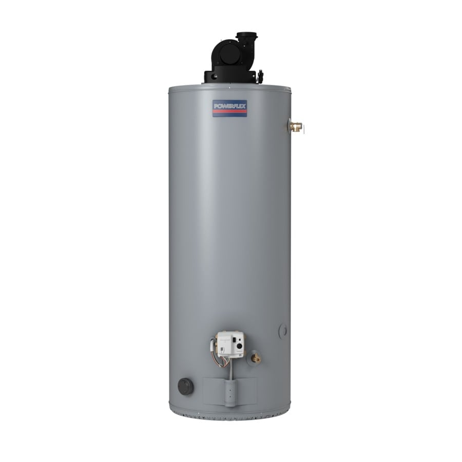 Shop powerflex 50 gallon 6 year residential tall natural Natural gas water heater
