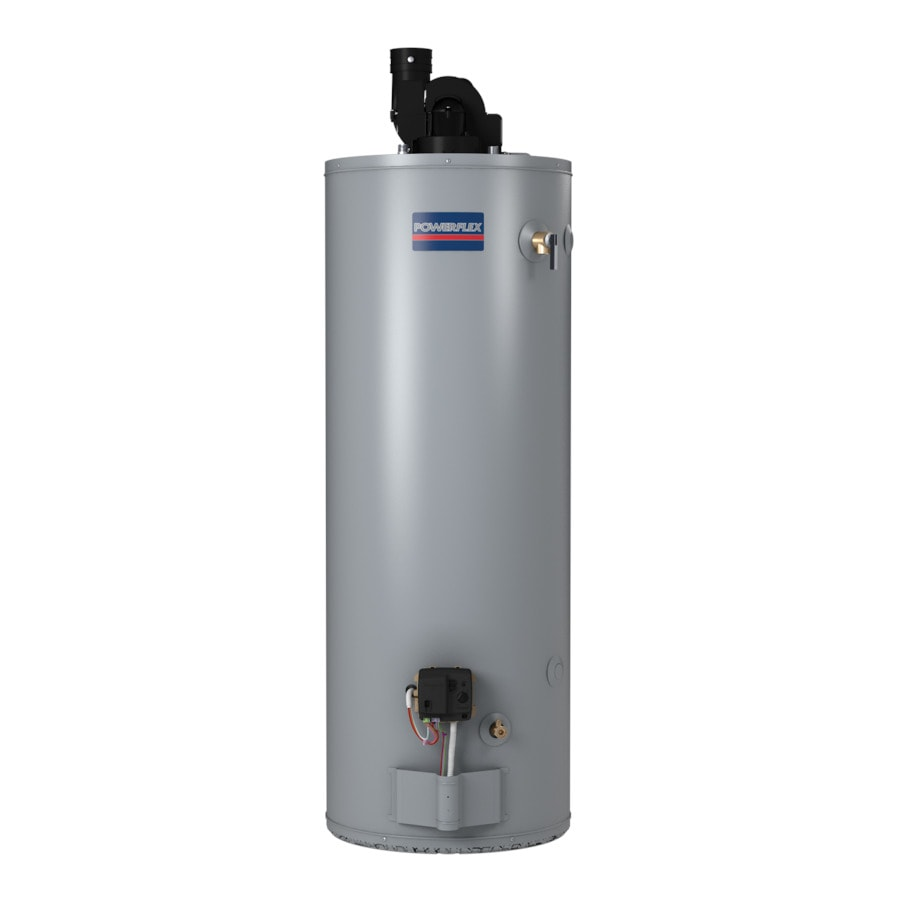 Shop powerflex direct 50 gallon 6 year tall natural gas Natural gas water heater