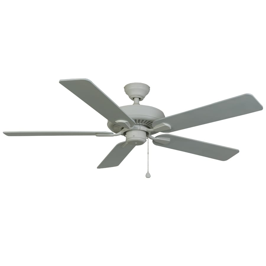 Harbor Breeze Classic 52-in White Downrod Mount Indoor/Outdoor Ceiling Fan ENERGY STAR