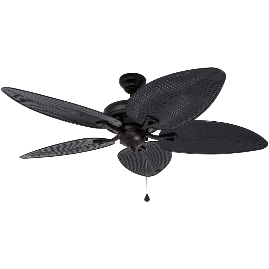 Harbor Breeze Pacific Grove 52-in Oil Rubbed Bronze Downrod or Close Mount Indoor Ceiling Fan