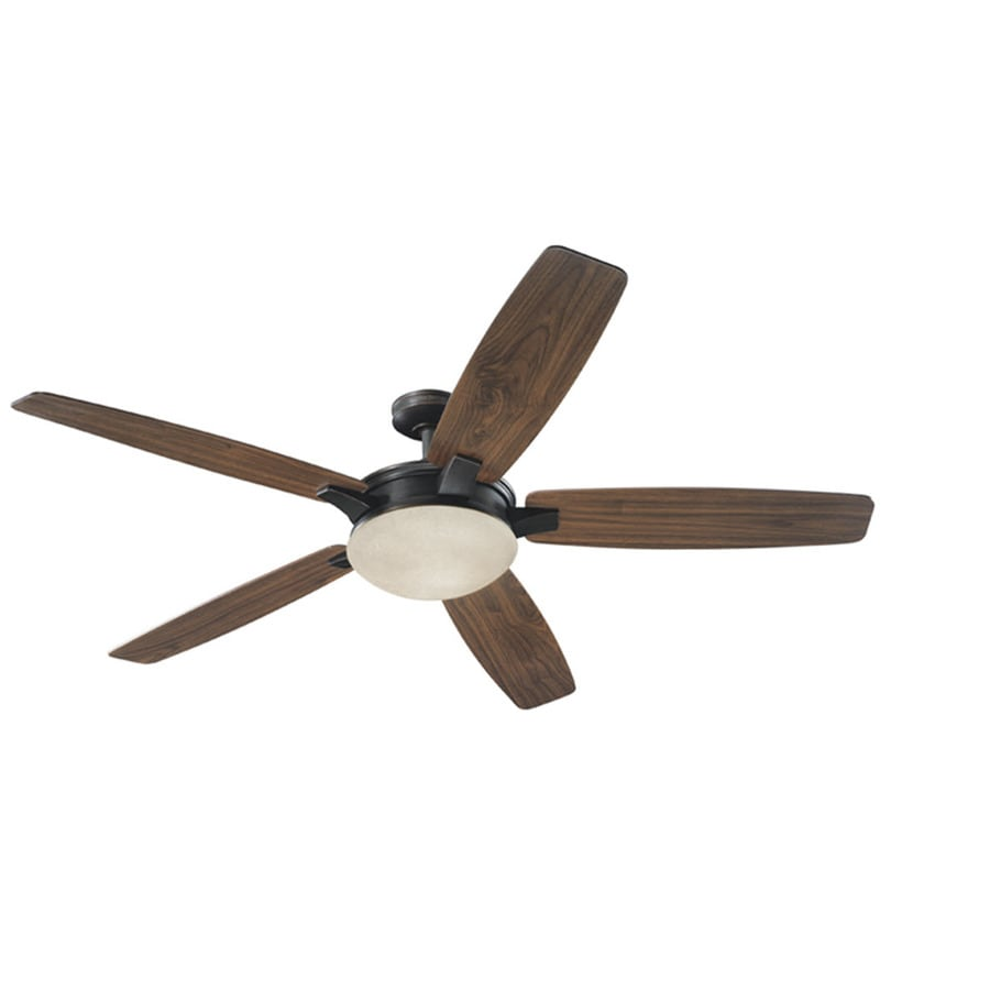 Harbor Breeze Platinum Kingsbury 70-in Oil Rubbed Bronze Downrod Mount Indoor Ceiling Fan with Light Kit and Remote ENERGY STAR