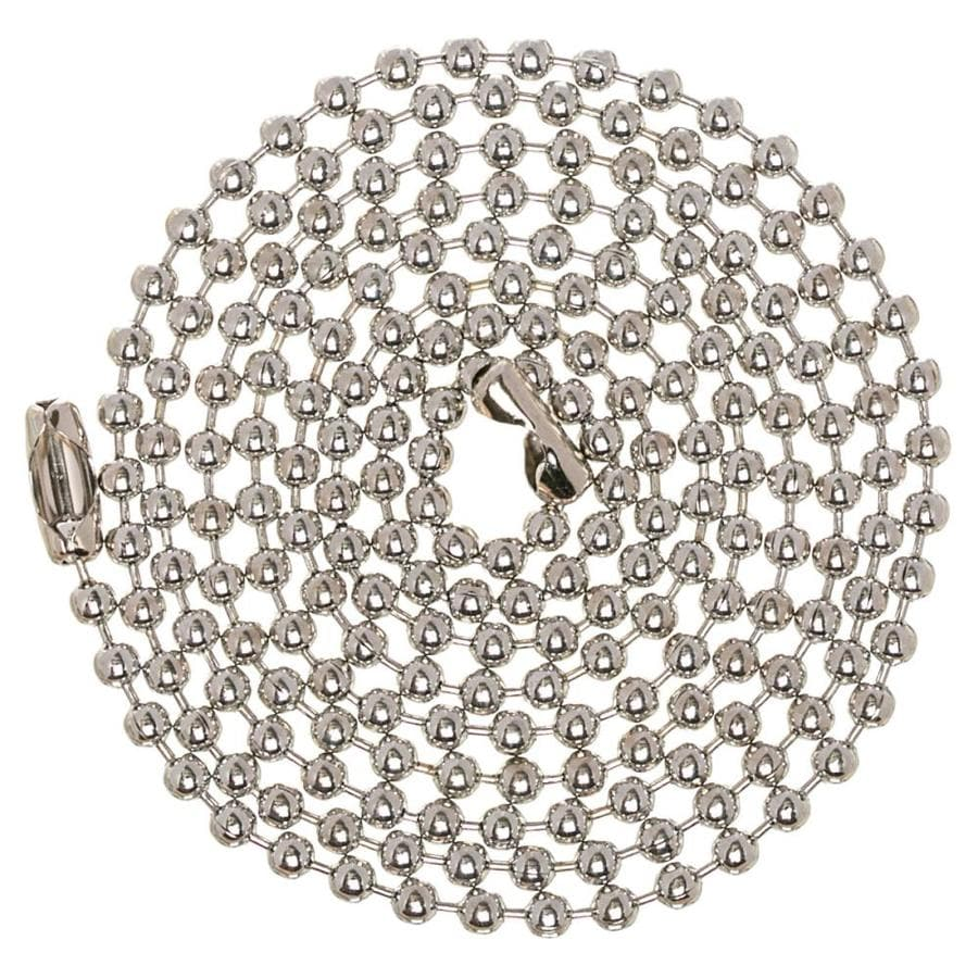 Harbor Breeze 36-in Chrome Steel Pull Chain