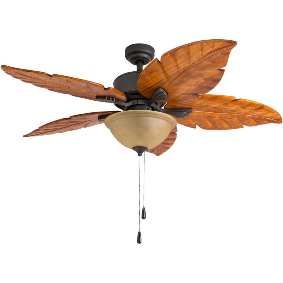 Palm Coast San Martin 52-in Bronze Downrod or Close Mount Indoor Ceiling Fan with Light Kit