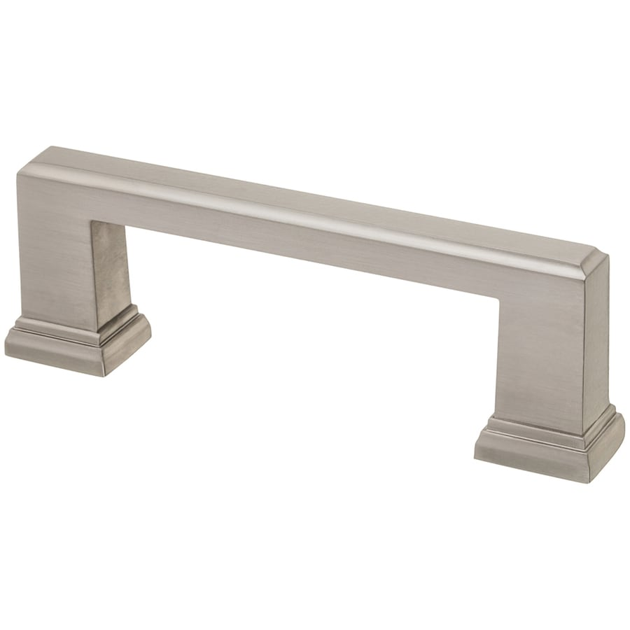 Style Selections 3-in and 96mm Center-to-Center Nickel Arched Cabinet Pull