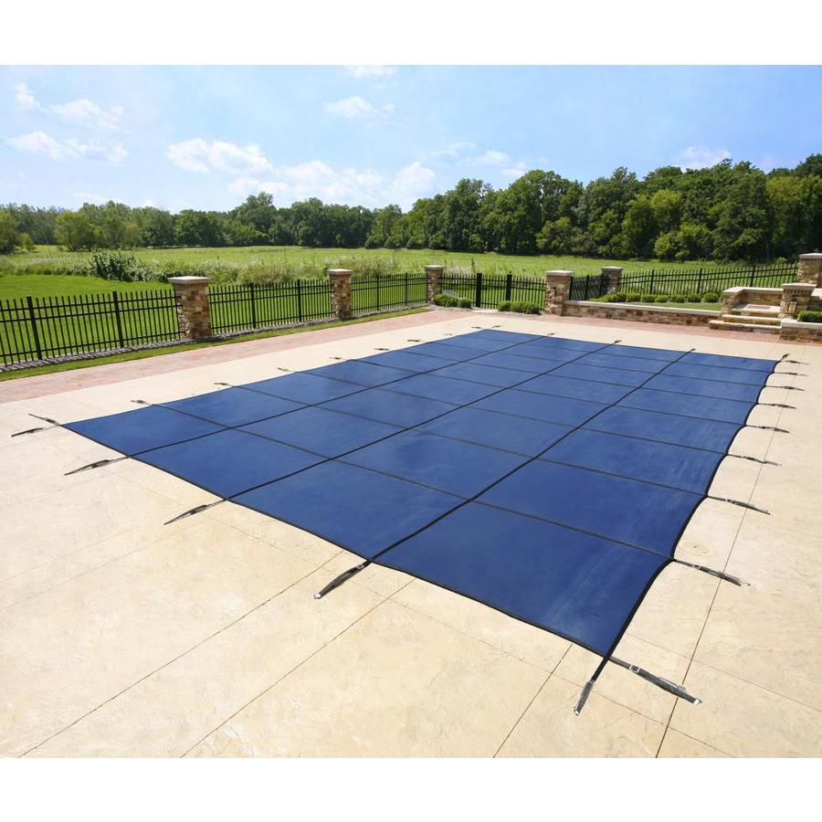 Blue Wave 20-ft x 38-ft Polypropylene Safety Pool Cover