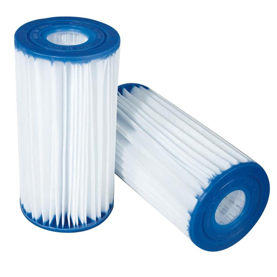 Shop pro series 4 pack 25 sq ft pool cartridge filter at for Obi filtersand pool