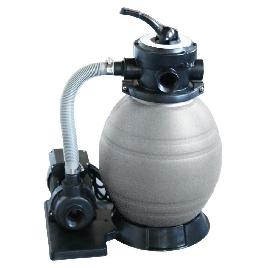 Shop blue wave sandman 1 6 sq ft sand pool filter system for Pond sand filter system