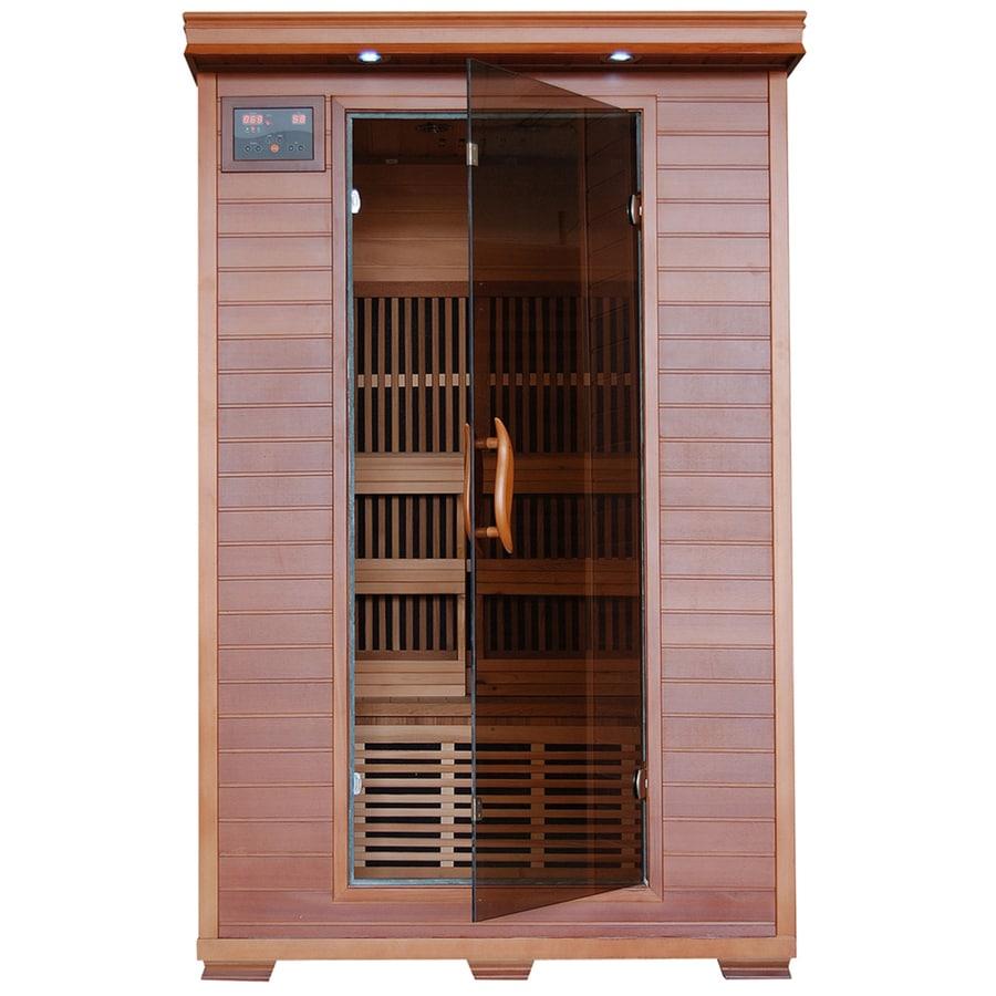 Radiant 75-in H x 39.5-in W x 47.25-in D Western Cedar Sauna