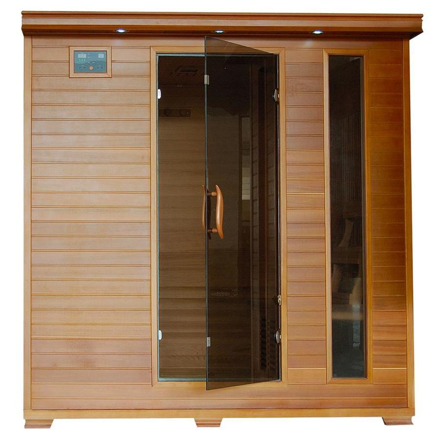 Radiant 76-in H x 59-in W x 75-in D Western Cedar Sauna