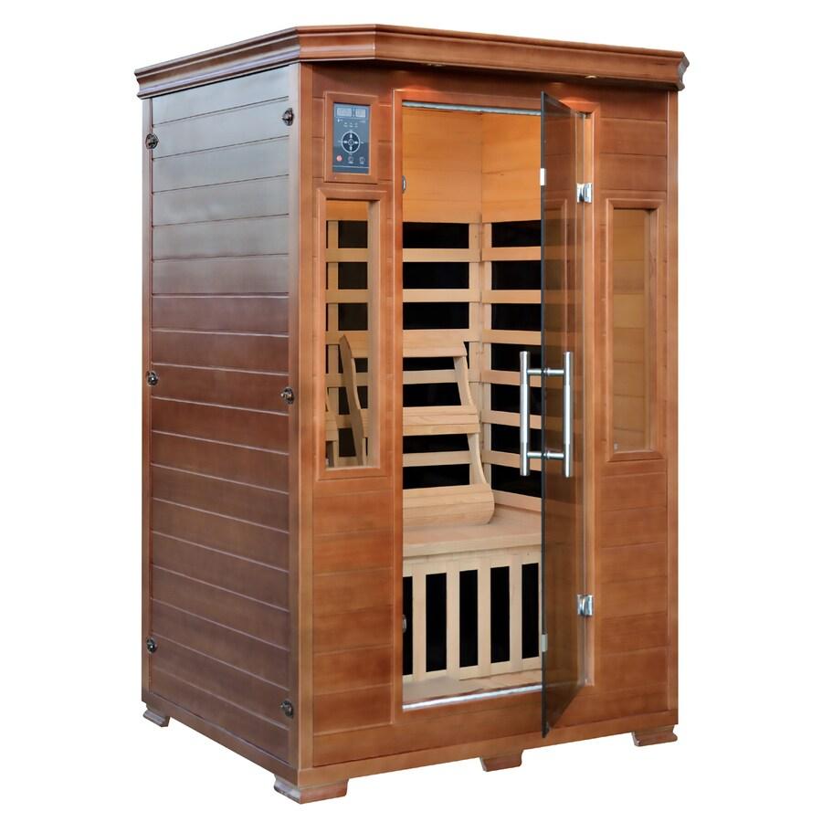 Majestic 75-in H x 39-in W x 49-in D Hemlock Fir Wood Sauna