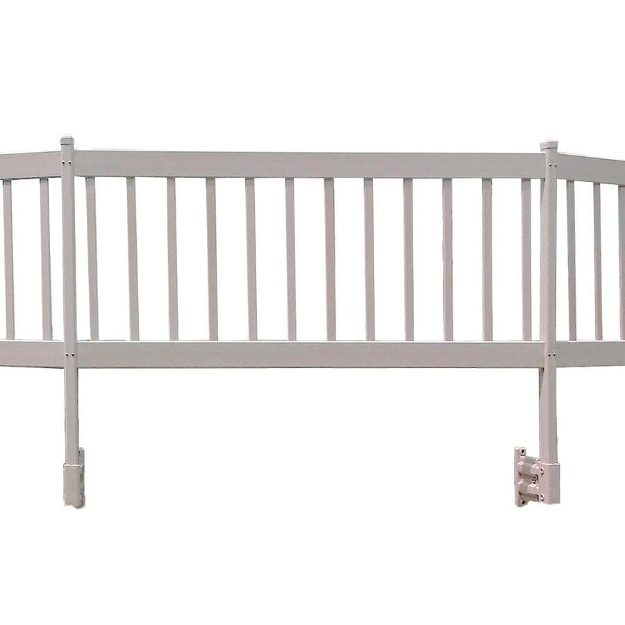 Shop vinyl works pool fencing panel common