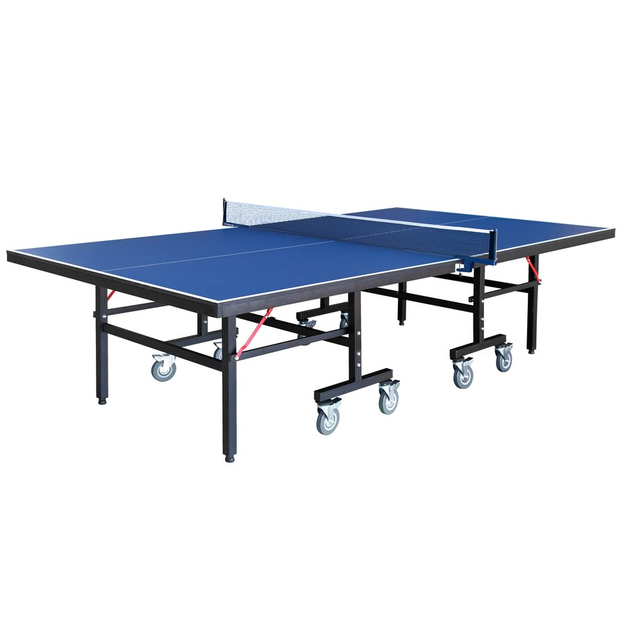Hathaway Back Stop 9-ft Indoor Freestanding Ping Pong Table