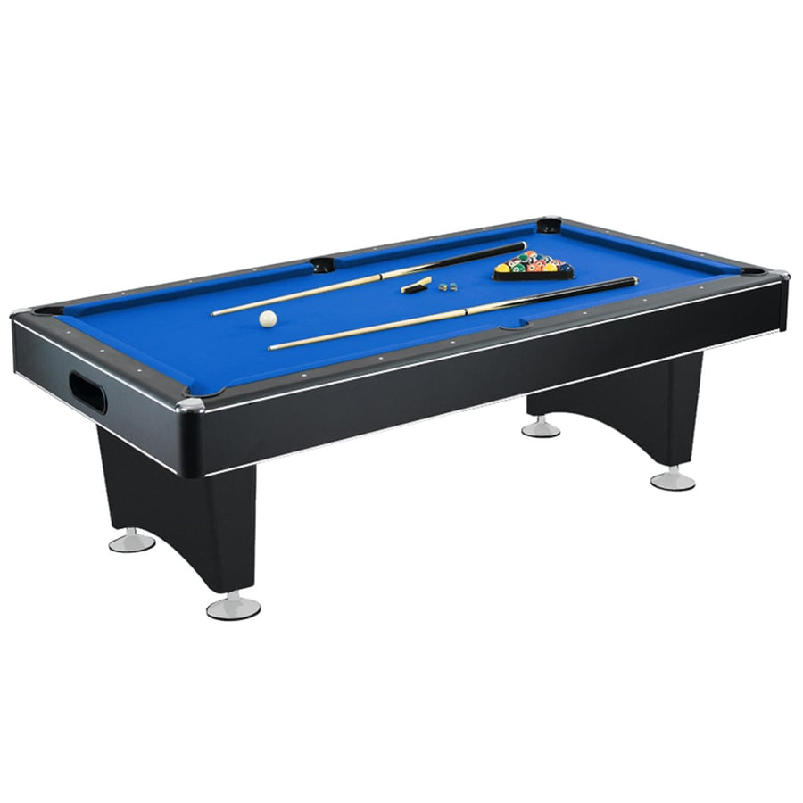 Shop hathaway hustler 8 ft indoor standard pool table at - Dimension table de billard standard ...