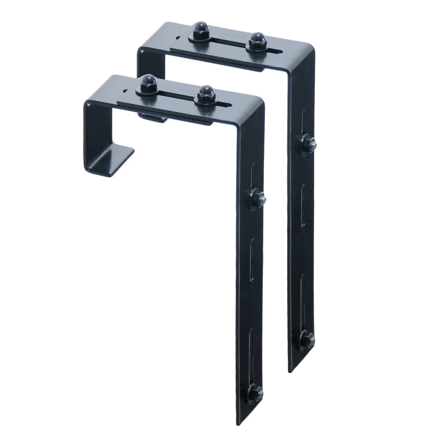 Shop Mayne 2 Pack 5 75 In Steel Window Box Brackets At