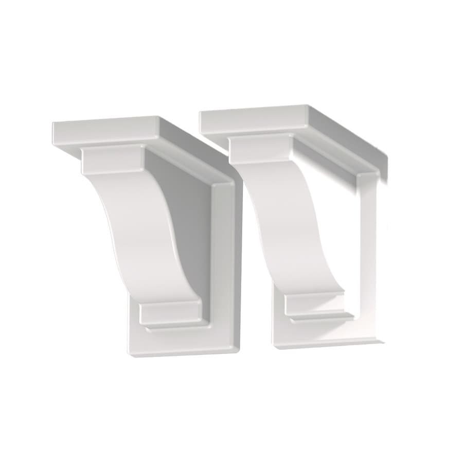 Mayne 2-Pack 8-in Plastic Window Box Brackets