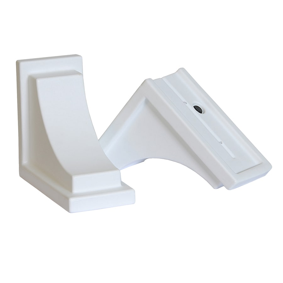 Mayne 2-Pack 8-in Resin Window Box Brackets
