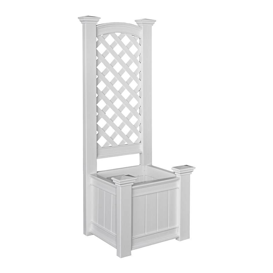 New England Arbors 23-in x 63.7-in Planter