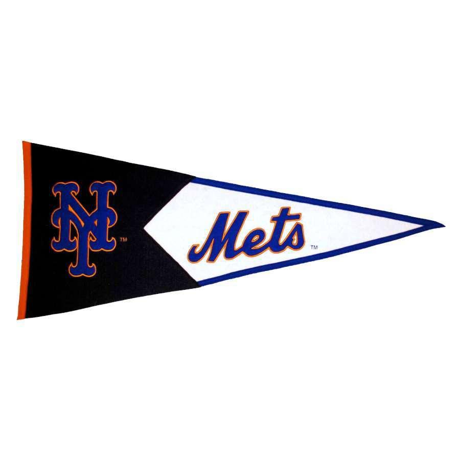 Winning Streak 41-in x 18-in New York Mets Pennant