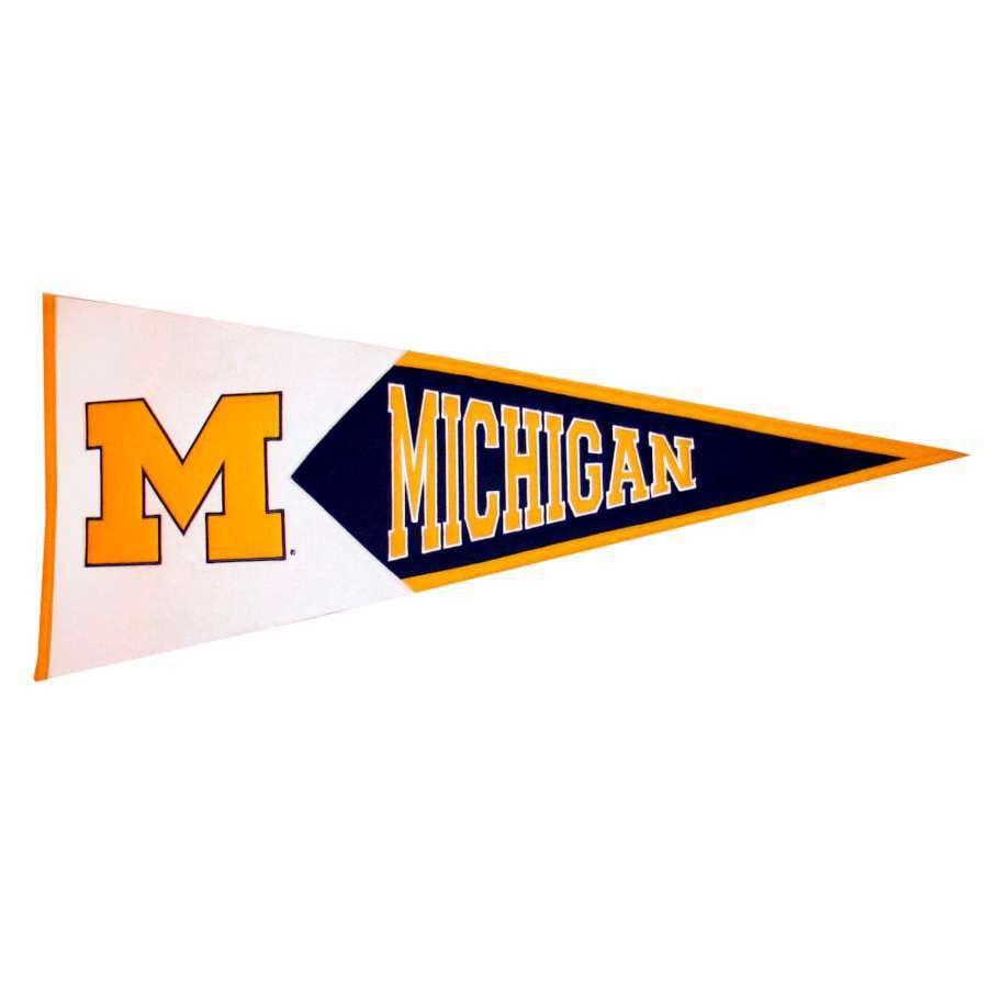 Winning Streak 41-in x 18-in Michigan Wolverines Pennant