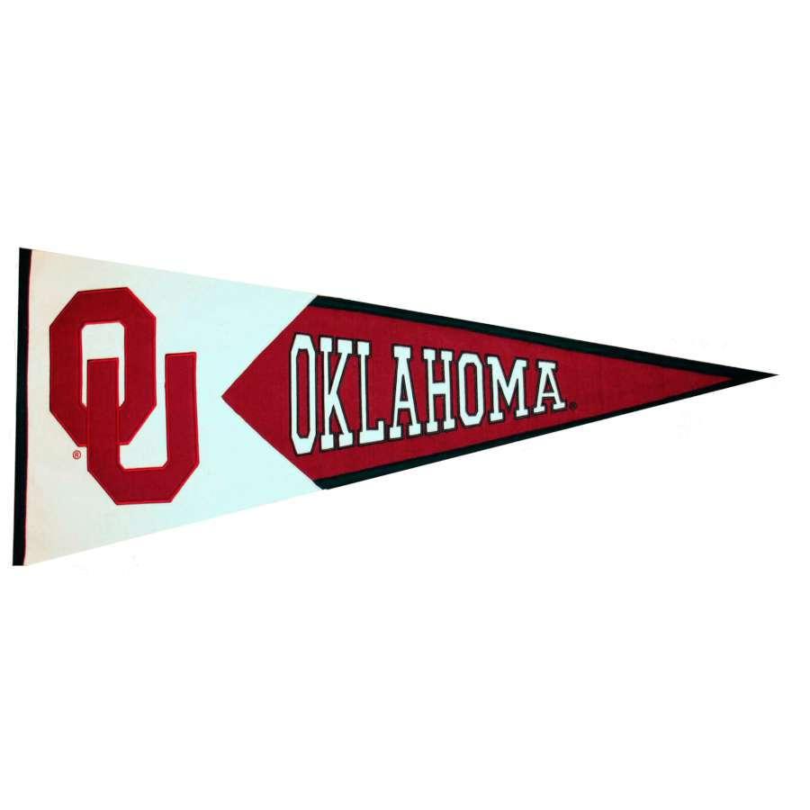 Winning Streak 41-in x 18-in Oklahoma Sooners Pennant