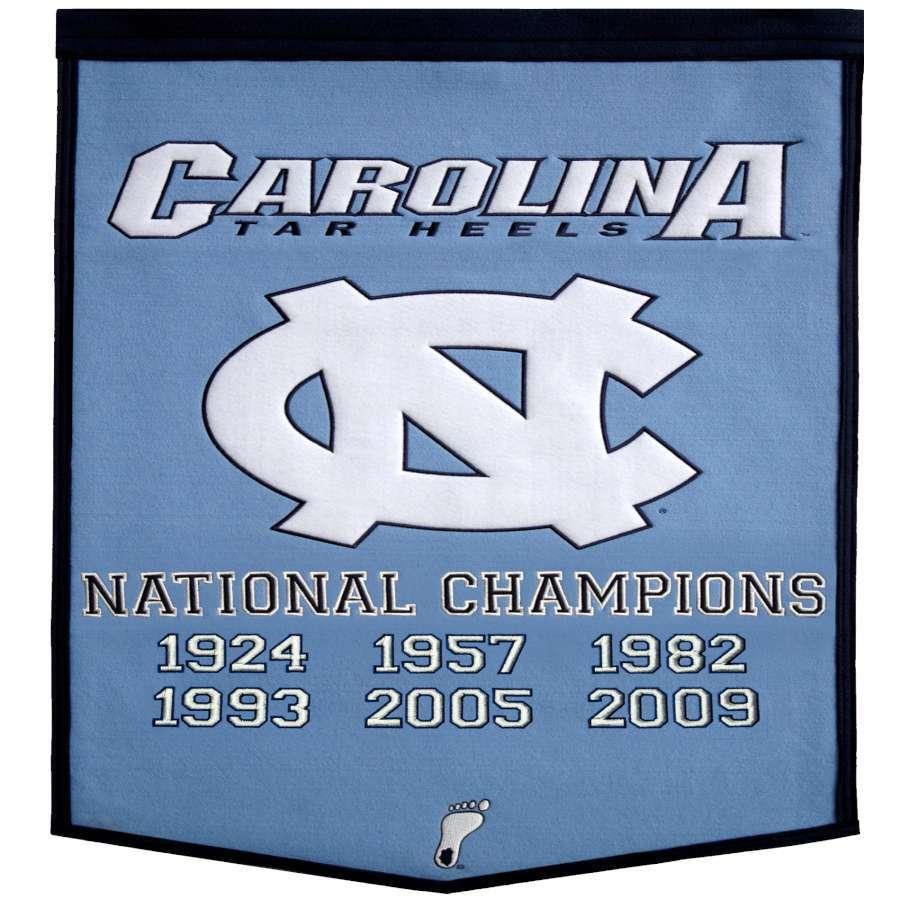 Winning Streak 38-in x 24-in North Carolina Tar Heels Banner