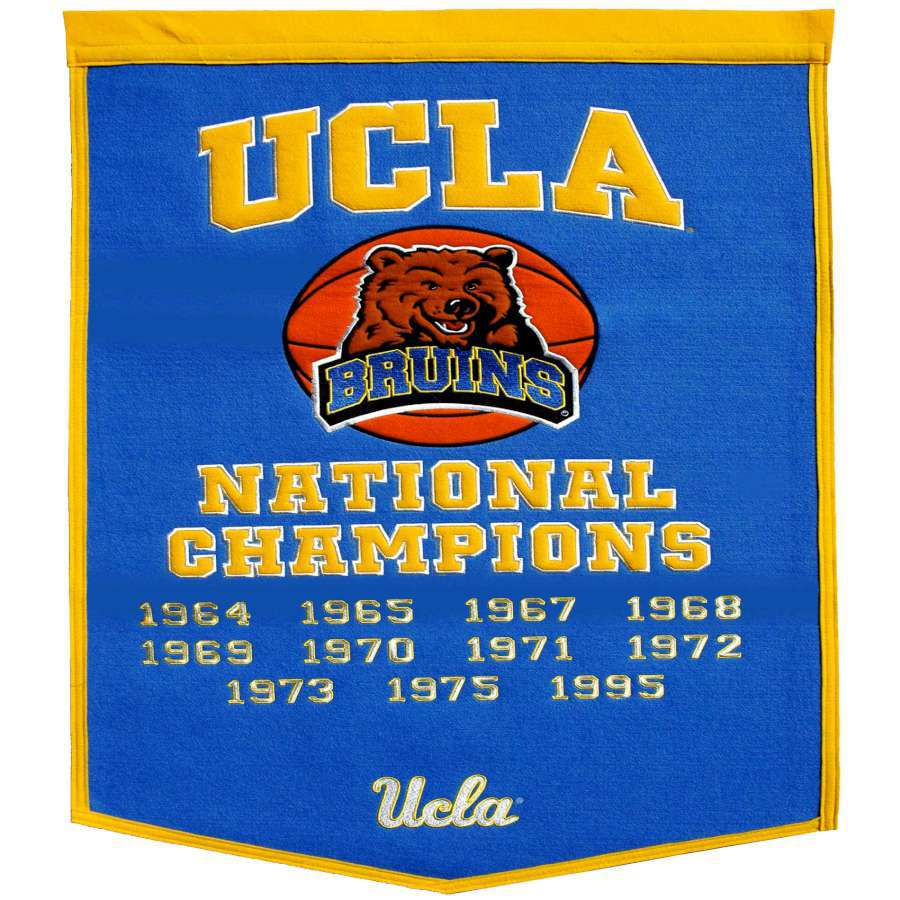 Winning Streak 38-in x 24-in Ucla Bruins Banner