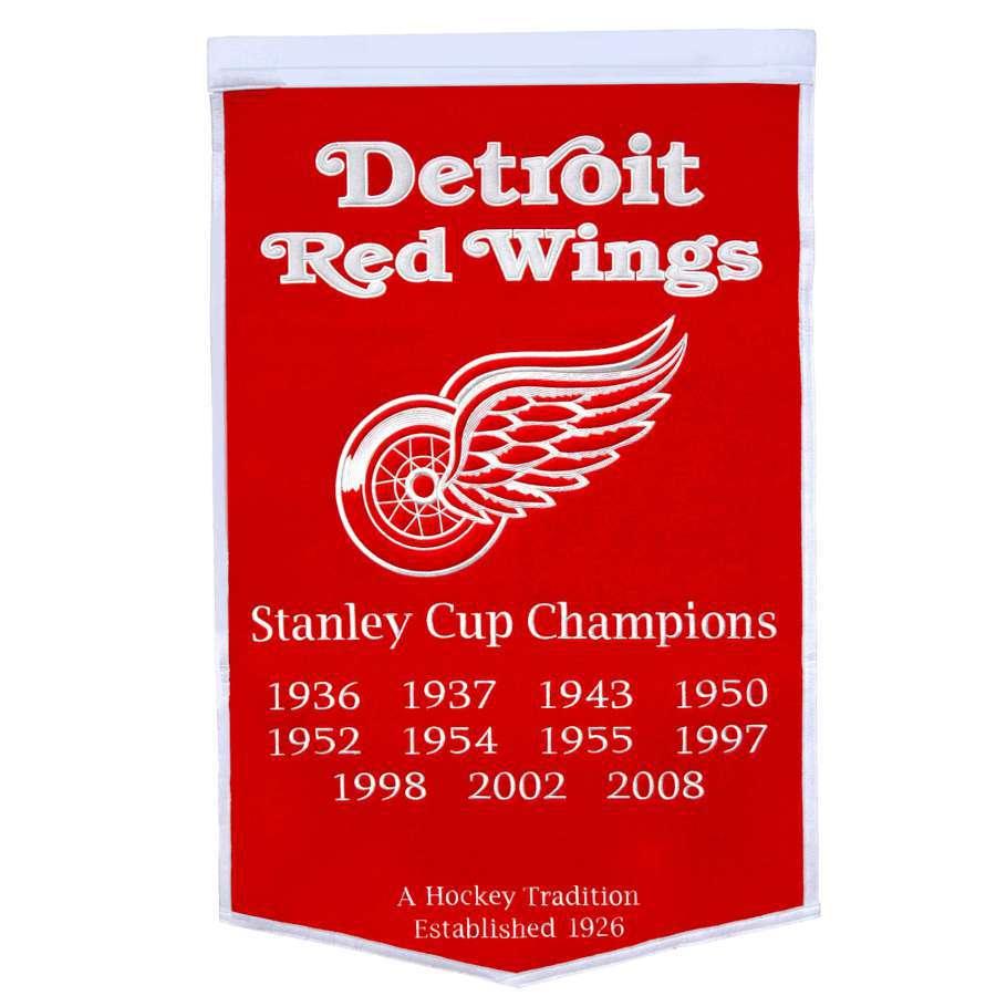 Winning Streak 38-in x 24-in Detroit Red Wings Banner
