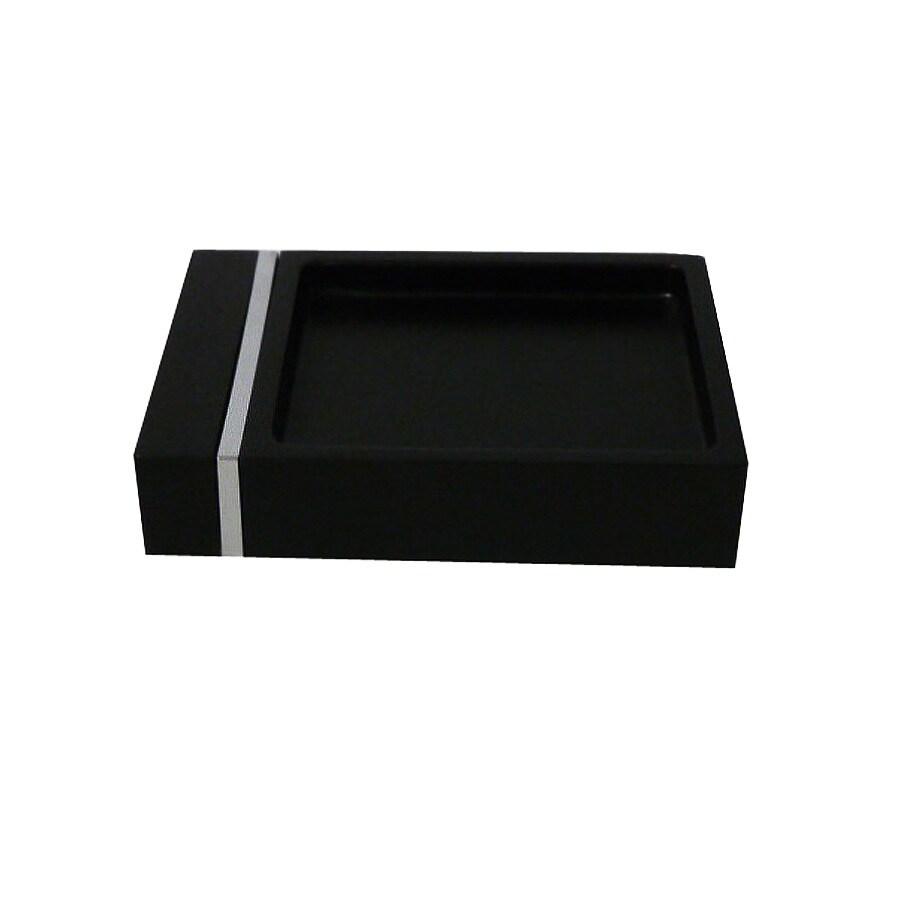 Style Selections Tegan Black Soap Dish
