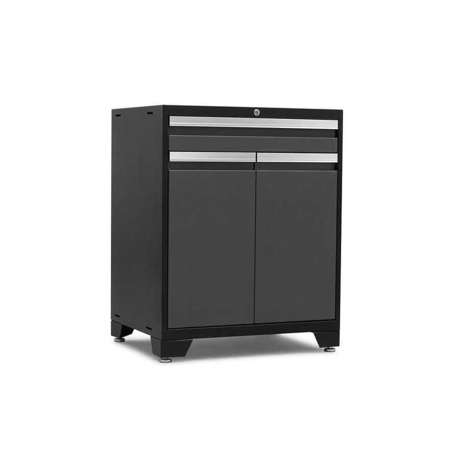 NewAge Products Pro 3.0 28-in W x 37-in H x 22-in D Steel Freestanding or Wall-Mount Garage Cabinet