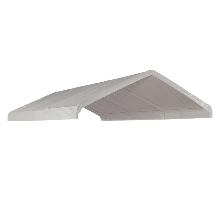 ShelterLogic White Polyethylene Storage Shed Replacement Cover