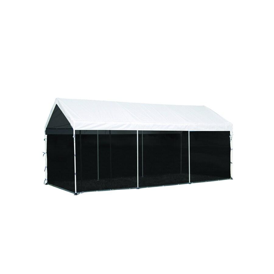 ShelterLogic 10-ft x 20-ft Polyethylene Canopy Storage Shelter