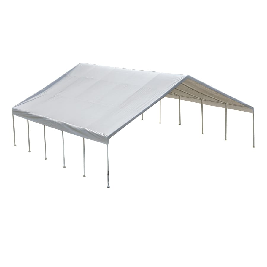 ShelterLogic 30-ft W x 30-ft L Steel Canopy