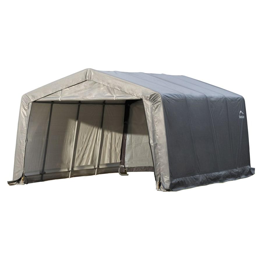 Shop Shelterlogic 12 Ft X 16 Ft Polyethylene Canopy