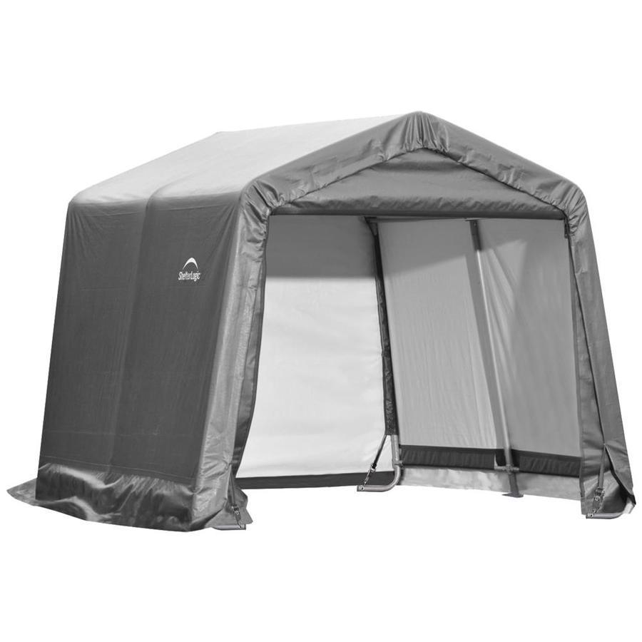 ShelterLogic 10 x 10 Peak Style Canopy Storage Shed
