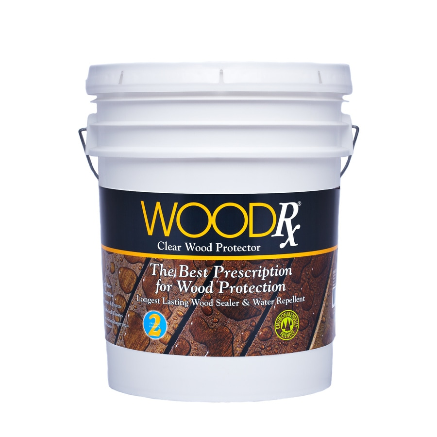 Shop Woodrx Clear Clear Exterior Stain Actual Net