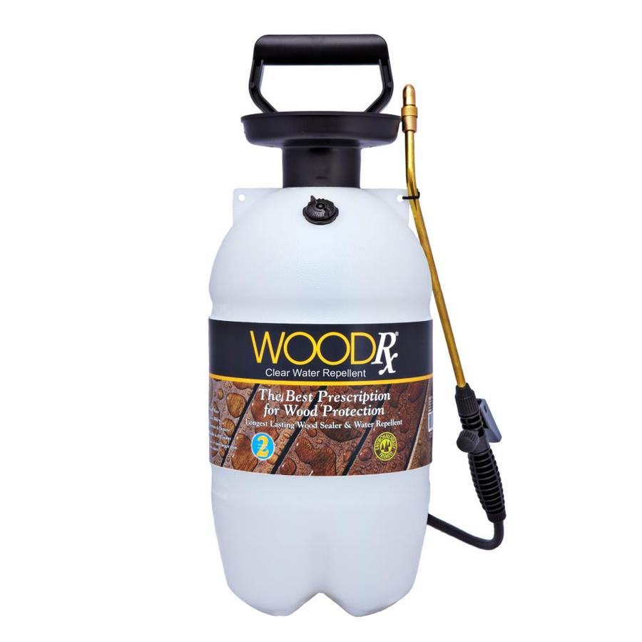 WoodRx Clear Clear Exterior Stain (Actual Net Contents: 256-fl oz)