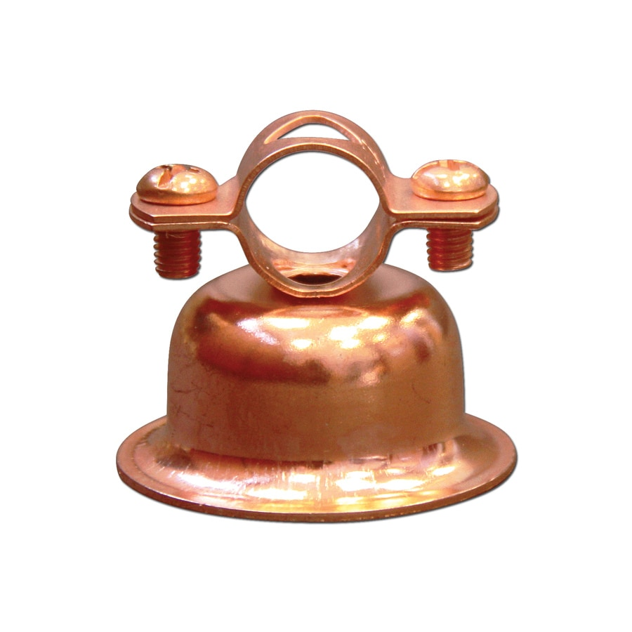 Cambridge Resources -Pack 1-in - 1-in Dia Copper Plated Steel Bell Hangers