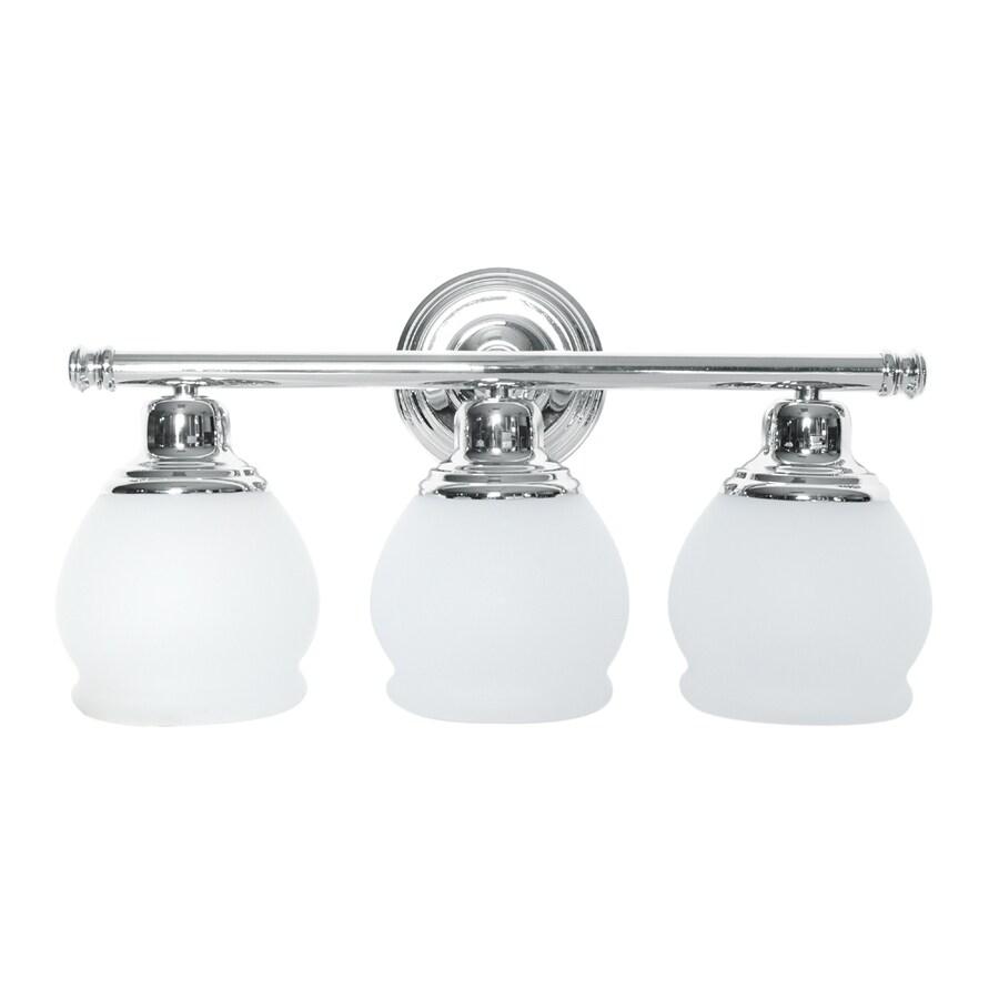 Portfolio Stanton 3-Light Chrome Vanity Light