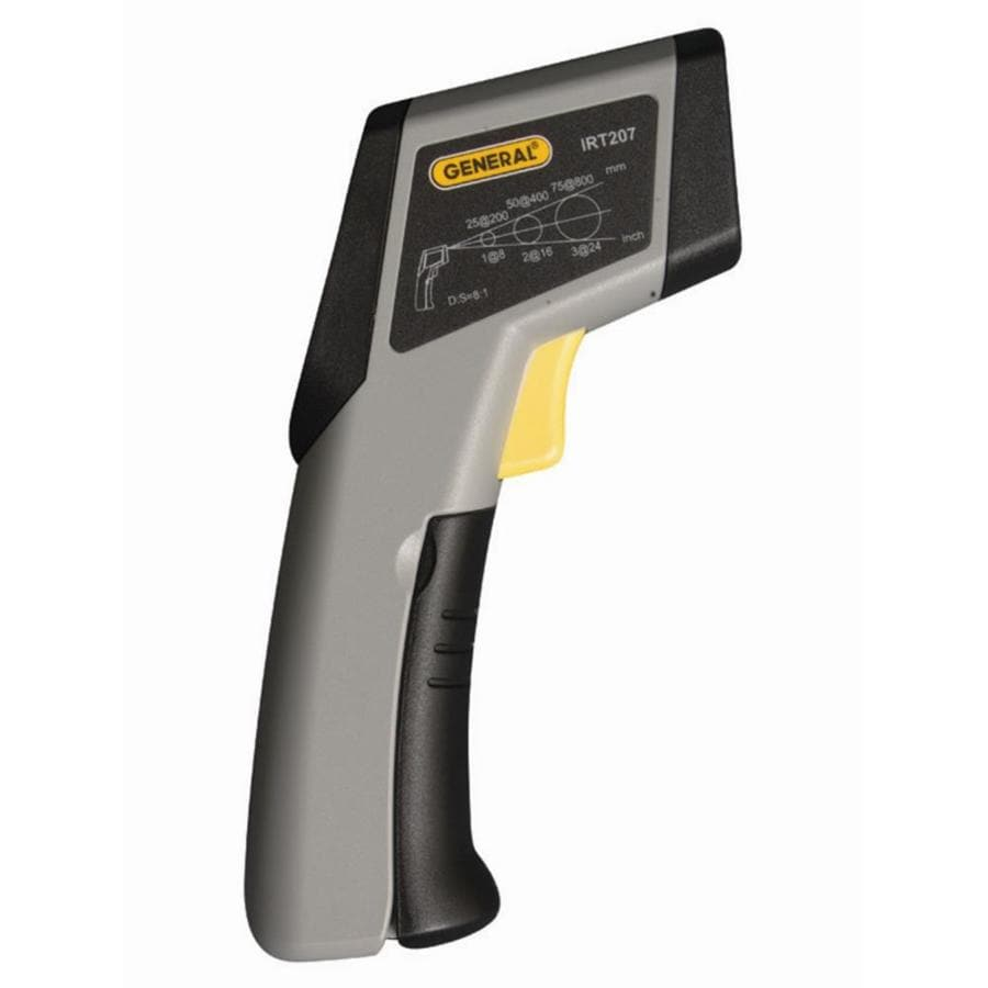 General Tools & Instruments The Heat Seeker 8:1 Professional Infrared Thermometer