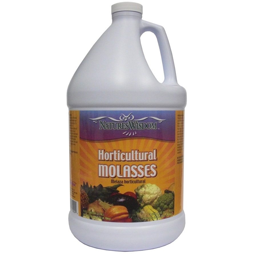 Natures Wisdom Horticultural Molasses 1-Gallon Organic/Natural Flower and Vegetable Food