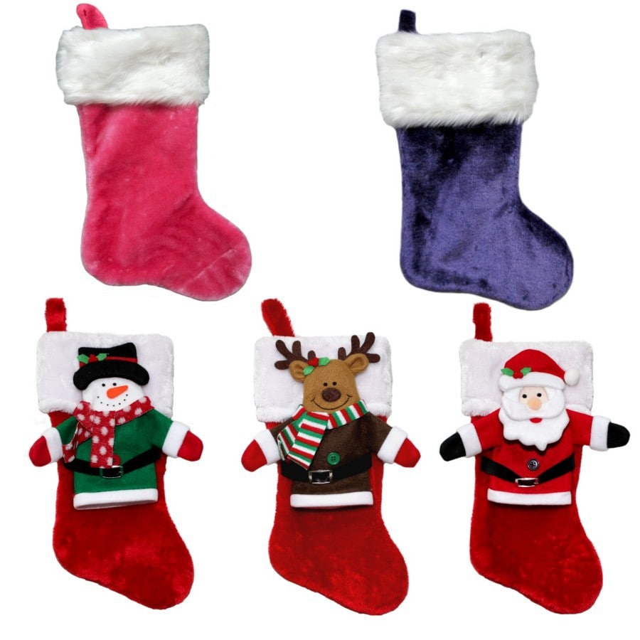 Holiday Living 16-in Christmas Stocking