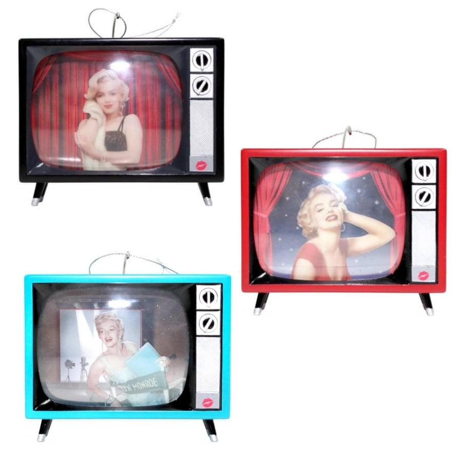 Marilyn Monroe Multicolored Musical Ornament