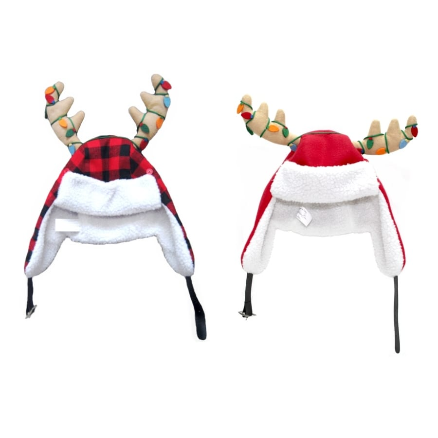 Holiday Living Assorted Christmas Plush Santa Hat