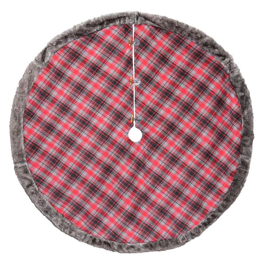 Holiday Living 56-in Polyester Traditional Christmas Tree Skirt