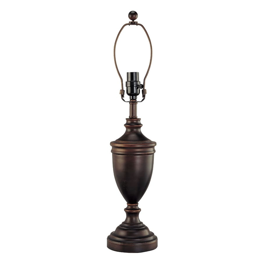 allen + roth 18-in 3-Way Switch Oil Rubbed Bronze Lamp Base