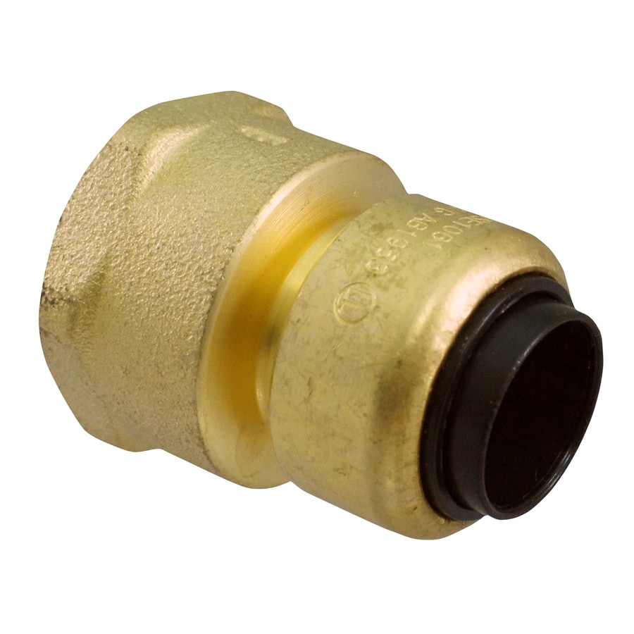 Blue Hawk 3/8-in x 1/2-in dia Female Adapter Push Fitting