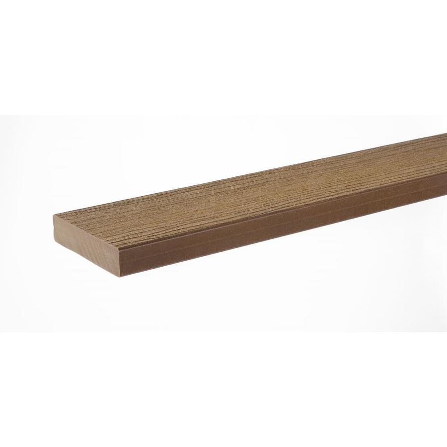 TimberTech Cedar Composite Deck Board (Actual: 1.25-in x 5.5-in x 16-ft)