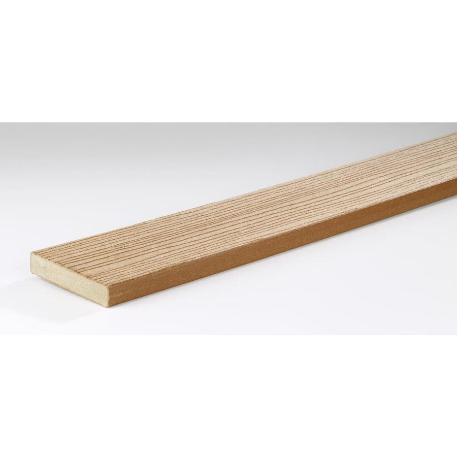 TimberTech Cedar Composite Deck Board (Actual: 1-in x 5.4-in x 16-ft)