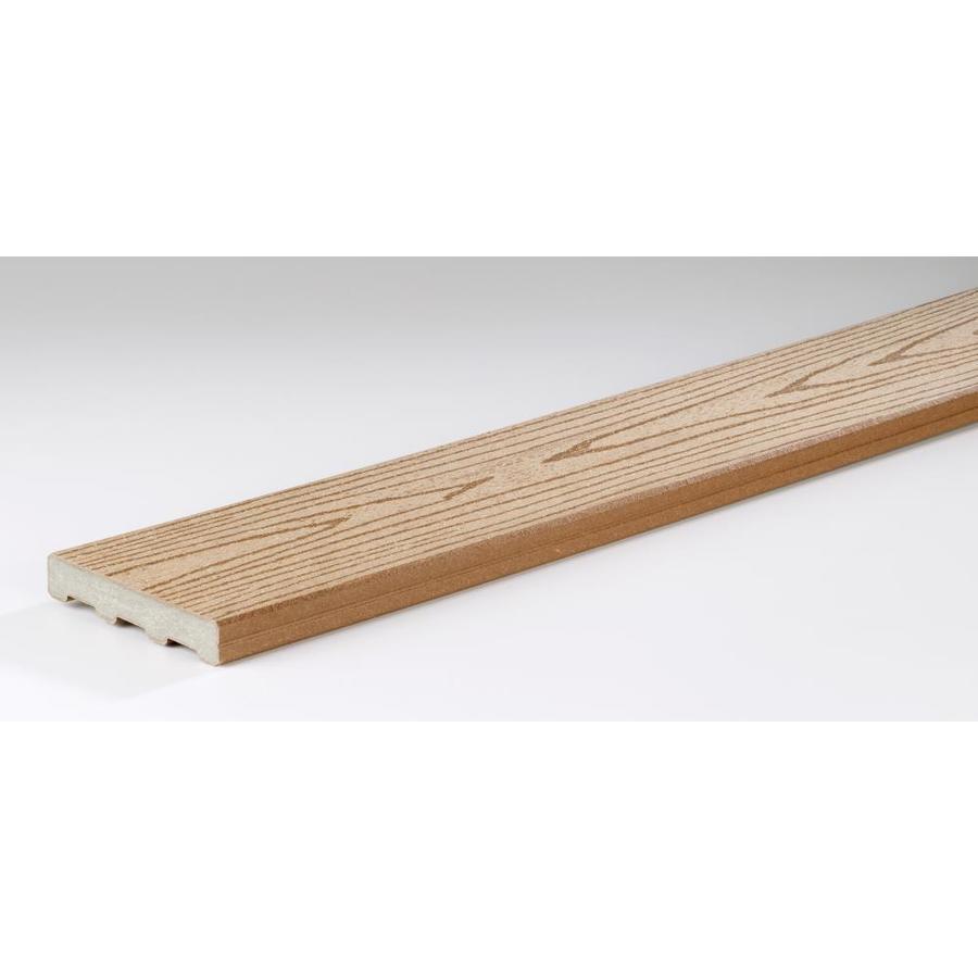 TimberTech Cedar Composite Deck Board (Actual: 0.94-in x 5.4-in x 12-ft)
